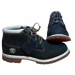 Timberland Nellie Black Waterproof Suede Boots